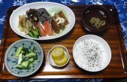 夕食20170715