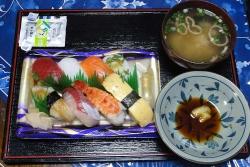 にぎり寿司20170828夕食