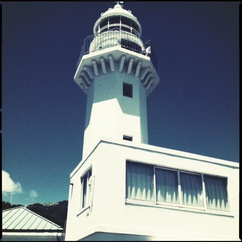 観音崎灯台。