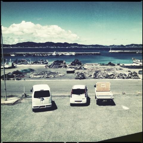 金田漁港。