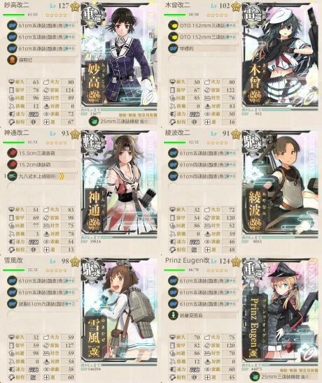 E-4第2ゲージ第2艦隊