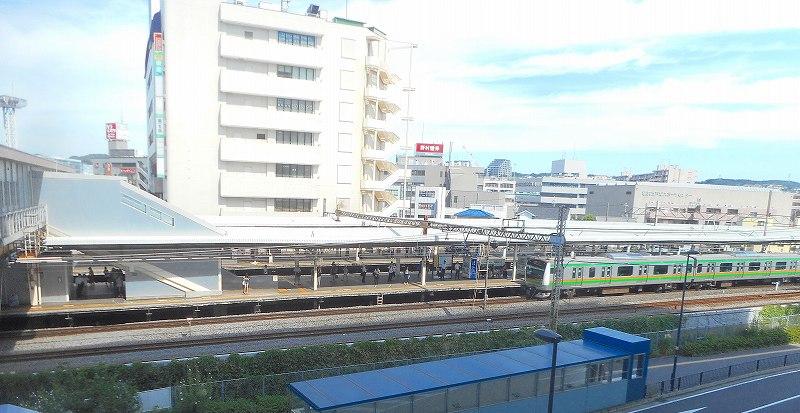 午後2時の戸塚駅