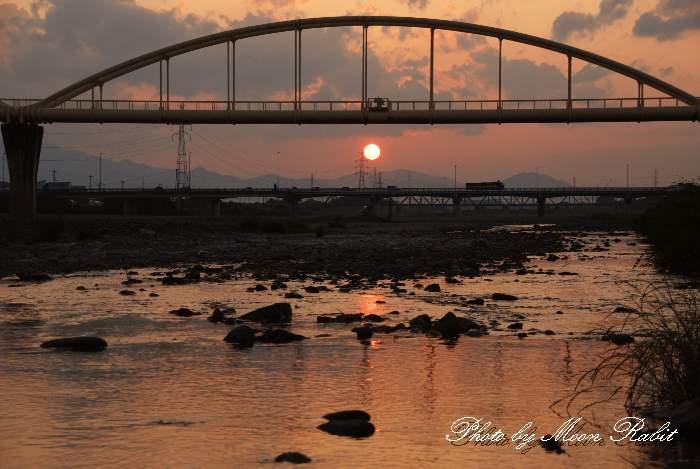 加茂川水管橋 愛媛県西条市
