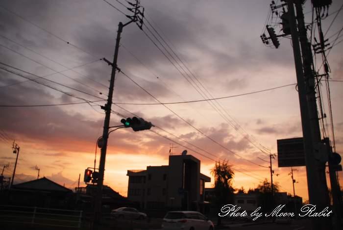 西条建設業協同組合 夕暮れ 愛媛県西条市神拝甲184-2