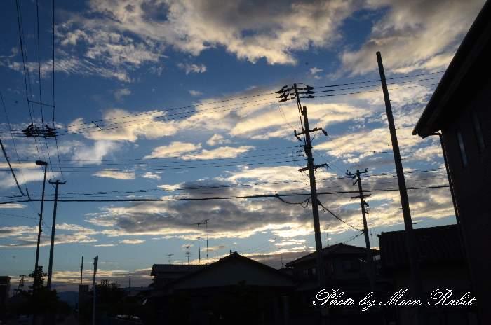 夏空 愛媛県西条市喜多川