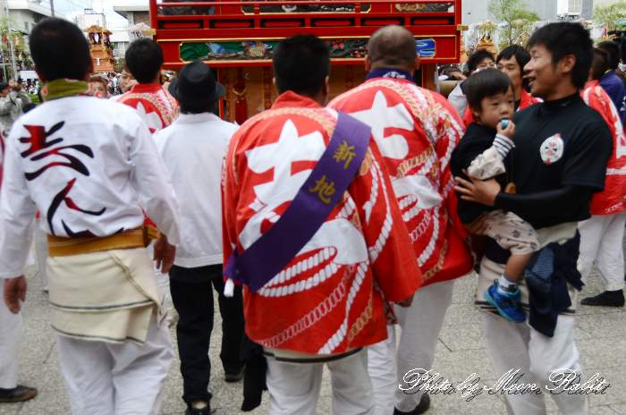 新地だんじり(屋台) 法被 祭り装束 西条祭り2013 伊曽乃神社