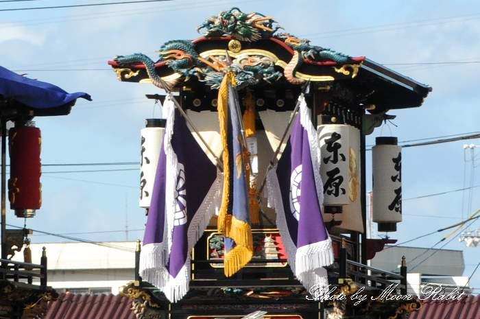 東原だんじり(屋台) 祭り提灯
