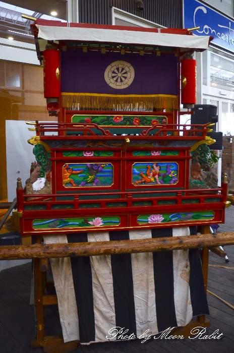 東町子供だんじり 西条市産業文化フェスティバル2014