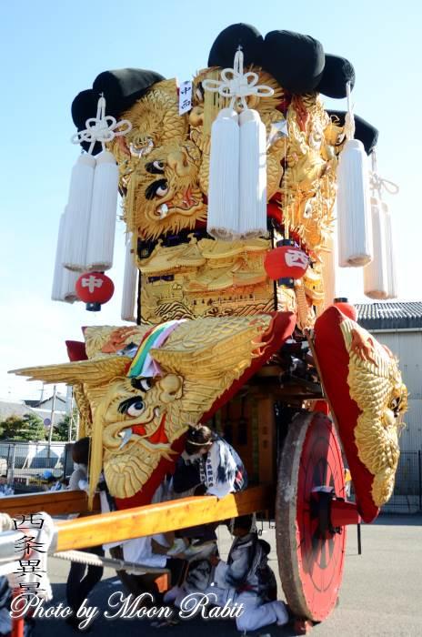 中西みこし 運行 伊曽乃神社祭礼 西条祭り 愛媛県西条市