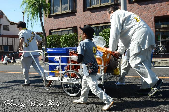 栄町上組屋台(だんじり) 台車・リヤカー