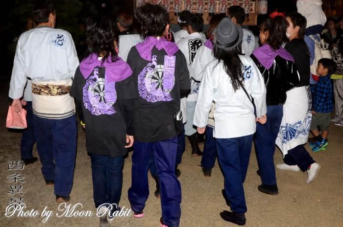 花園町屋台(花園町だんじり) 祭り装束 西条祭り