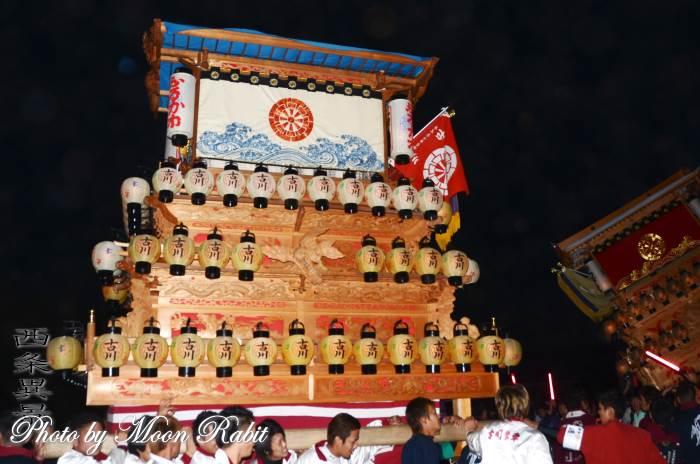 御所神社祭礼 古川だんじり(屋台)