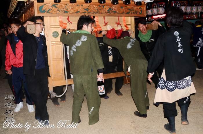 若草町だんじり(屋台) 祭り装束