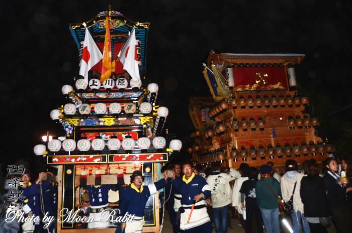 御所神社祭 上川原だんじり(屋台)