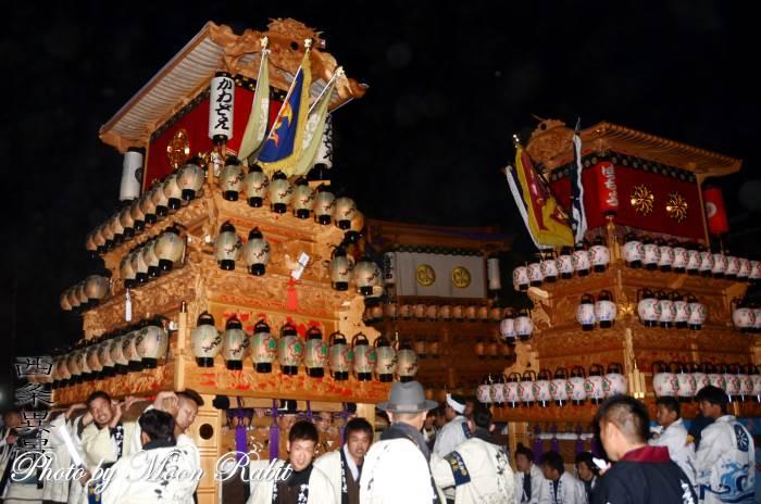 御所神社祭礼 川沿町だんじり(屋台)