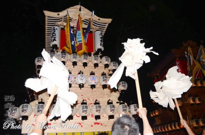 加茂神社祭 錦町だんじり(屋台)
