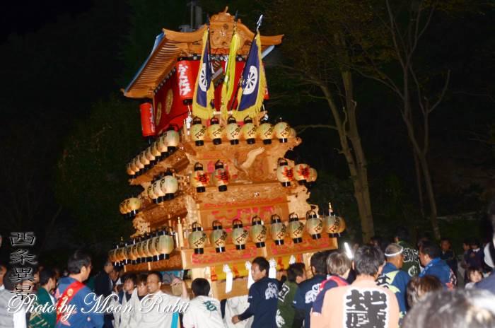 加茂神社祭り 若葉町だんじり(屋台)