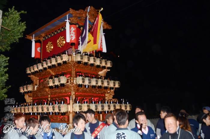 福武祭り(加茂神社祭礼) 新田だんじり(屋台)