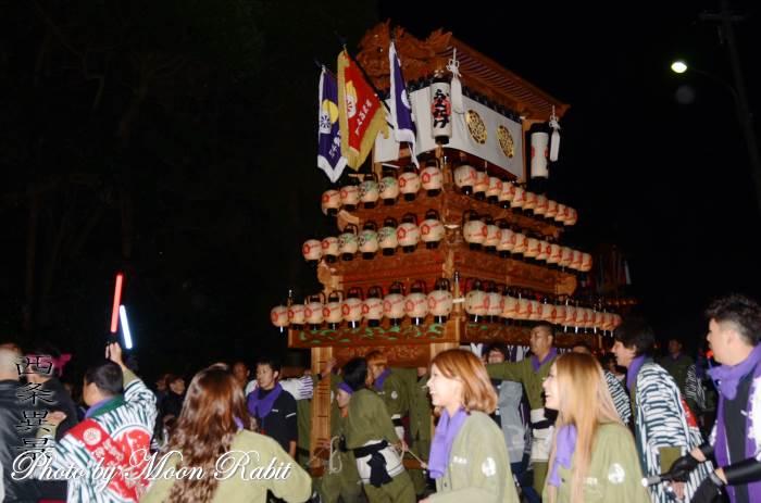 福武祭(加茂神社祭礼) 西之川原だんじり(屋台)
