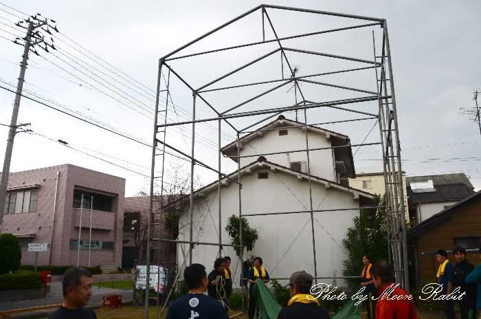 上川原屋台仮設格納庫(テント)