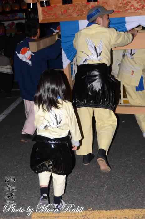 明神木屋台(だんじり) 祭り装束