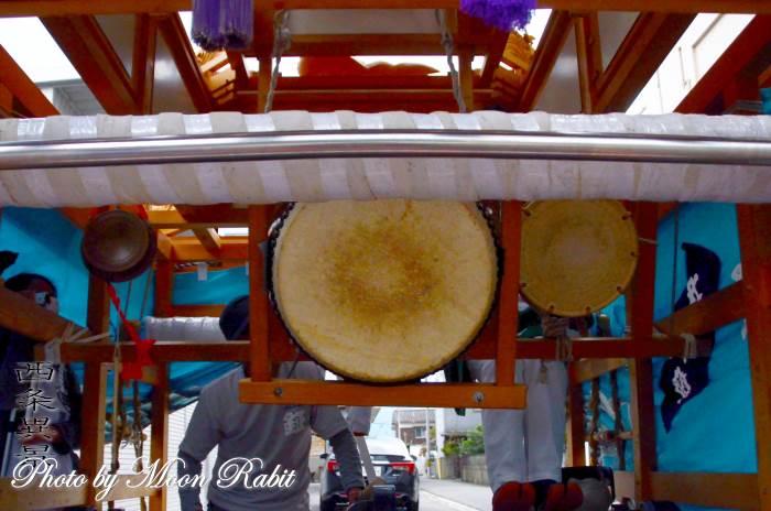 中常盤屋台(だんじり) 祭り太鼓