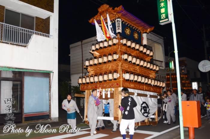 新宮藤木屋台(だんじり) 常盤祭り