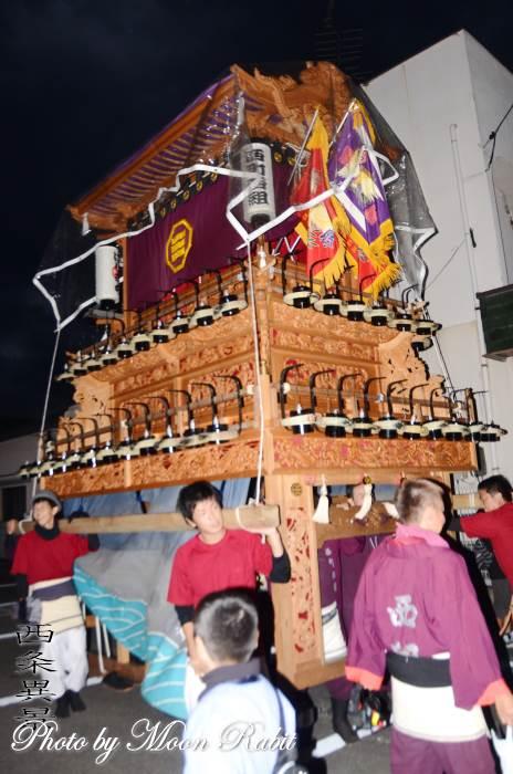 西町西組屋台(だんじり) 常盤祭り