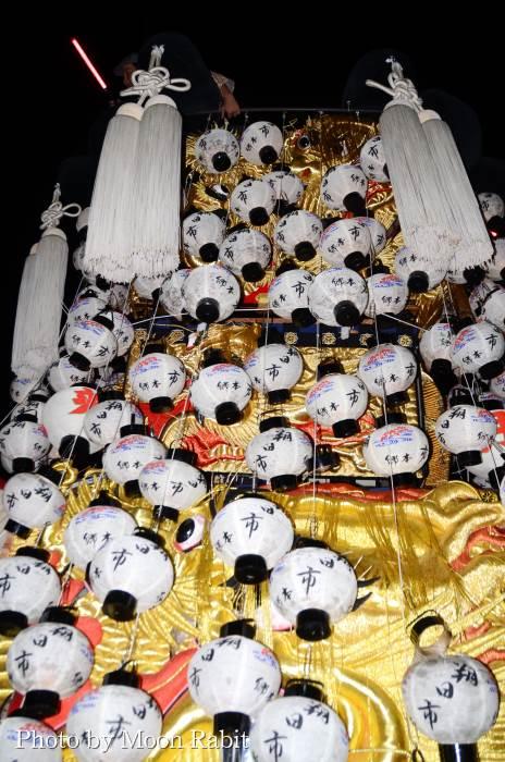 朔日市みこし(御輿) 祭り提灯