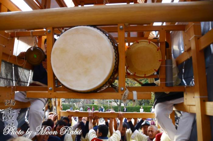 西町屋台(だんじり) 祭り太鼓