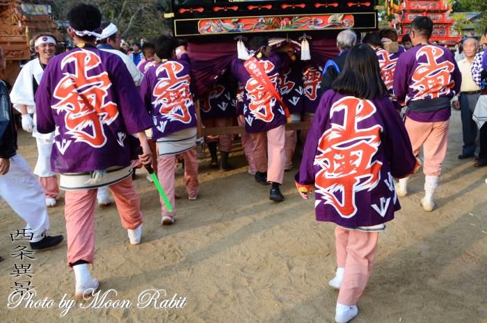 上町屋台(だんじり) 祭り装束