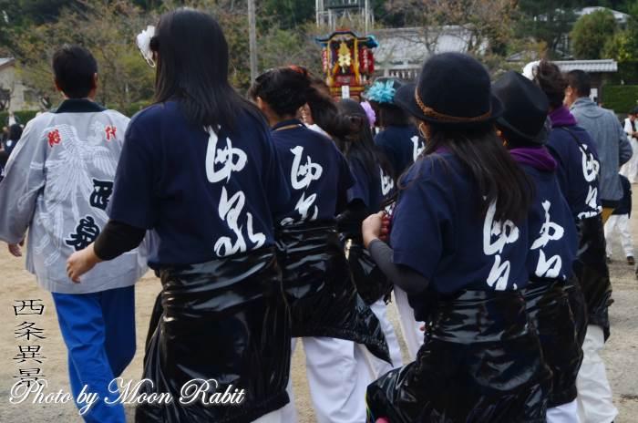 西泉だんじり(屋台) 祭り装束