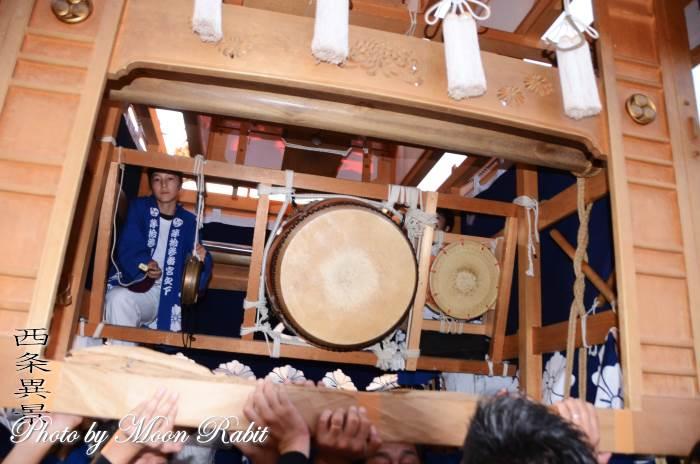 祭り太鼓 宮の下屋台(だんじり)