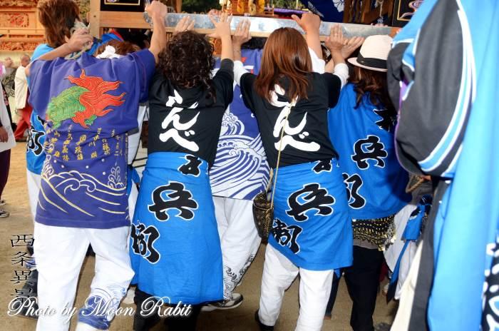新兵衛屋台(だんじり) 祭り装束