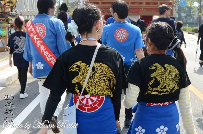 大師町屋台(だんじり) 祭り装束