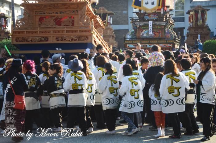 下町中組屋台(だんじり) 西条祭り