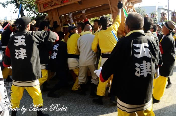 玉津だんじり(屋台) 祭り装束