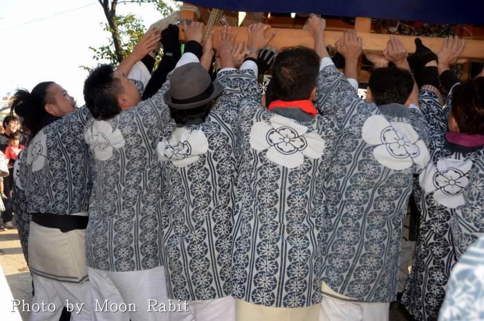 吉原三本松屋台(だんじり) 祭り装束 西条祭り