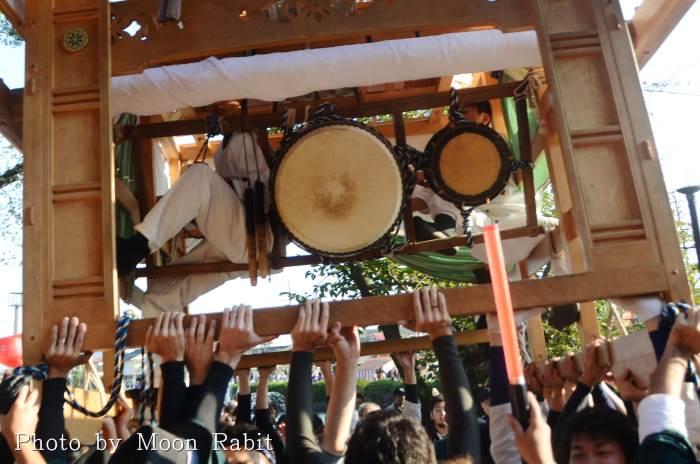 祭り太鼓 栄町中組屋台(だんじり)