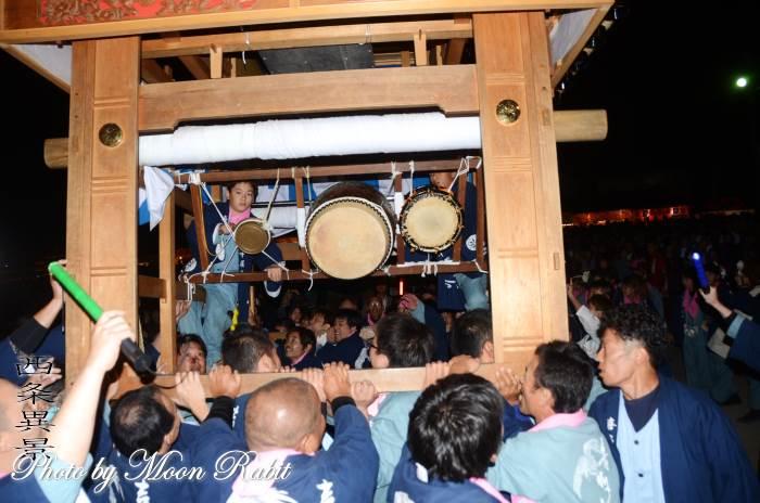 喜多川中だんじり(屋台) 祭り太鼓