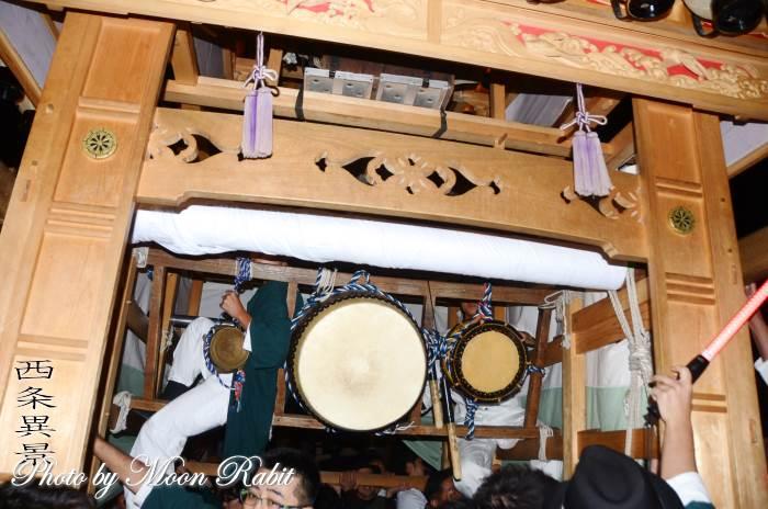 栄町中組だんじり(屋台) 祭り太鼓