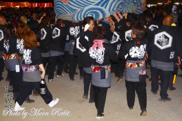 駅西屋台(だんじり) 祭り装束