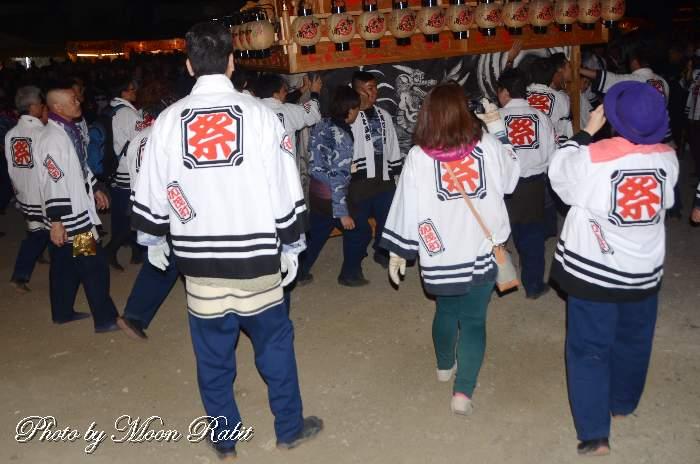 加茂町屋台(だんじり) 祭り装束