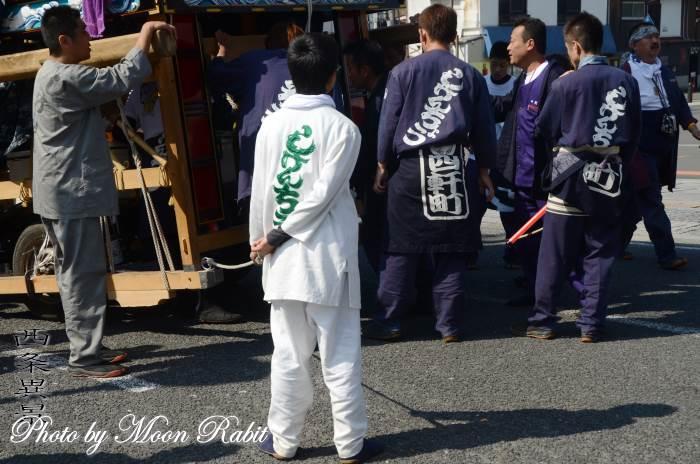 四軒町屋台(だんじり) 祭り装束