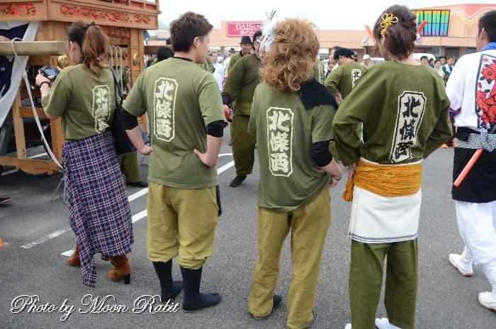 北条西だんじり(屋台) 祭り装束 鶴岡八幡神社祭礼