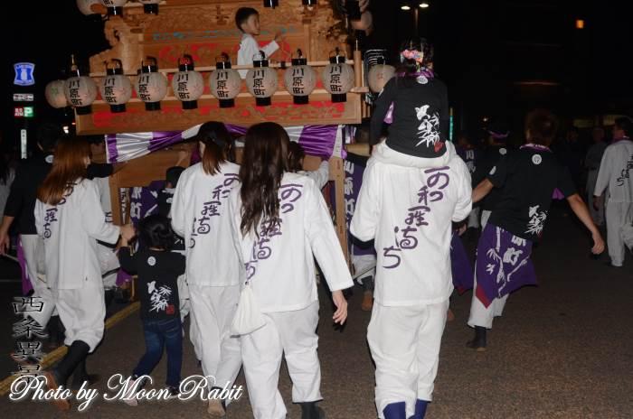 川原町だんじり(屋台) 祭り装束 西条祭り