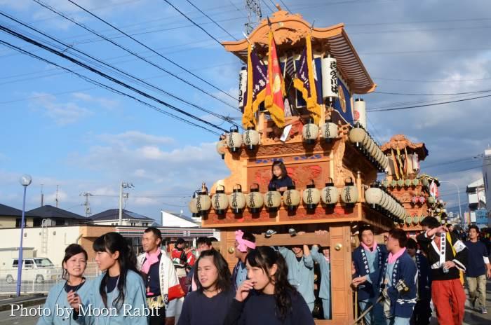 御所神社祭 喜多川中だんじり(屋台)