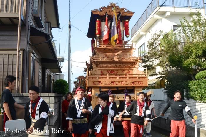 御所神社祭 古川だんじり(屋台)