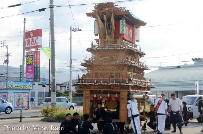 御所神社祭 若草町だんじり(屋台)