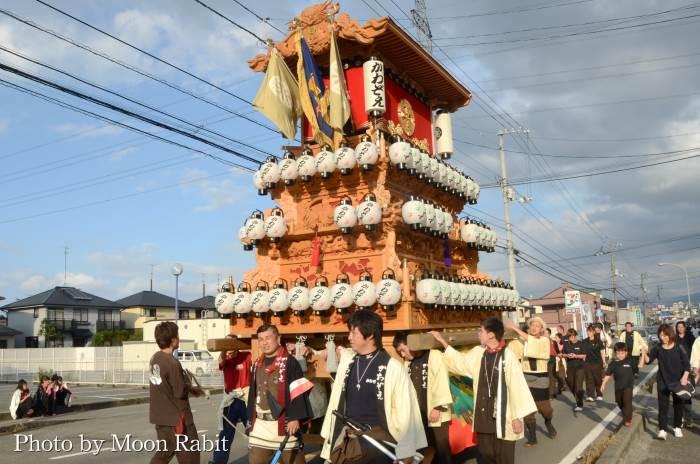 御所神社祭 川沿町だんじり(屋台)
